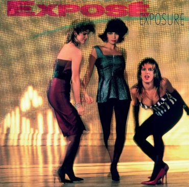EXPOSE - EXPOSURE - 1987 ALBUM COVER